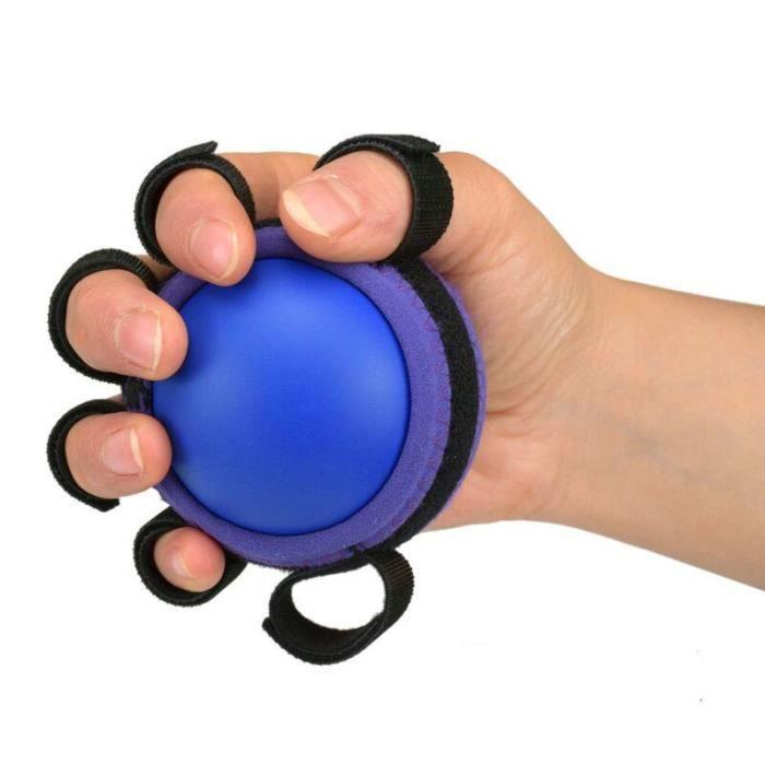 Six doigts main Grip balles bras musculation en caoutchouc balle course hémiplégie réadaptation récupératio - ZOAMFWZDA05577