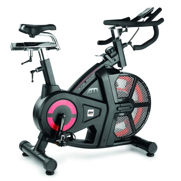 BH Fitness Air Mag manual, 510 mm, 1280 mm, 560 mm, 48 kg, 18 kg, LCD