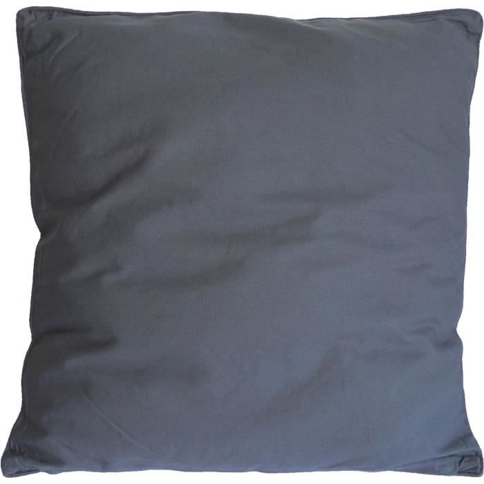 COTTON WOOD Coussin Salsa - 60 x 60 cm - Gris