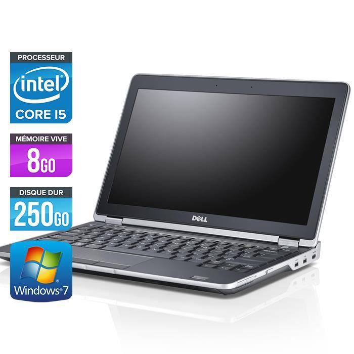 Dell E6230 - 12.5'' - Core i5-3320M - 8Go - HDMI