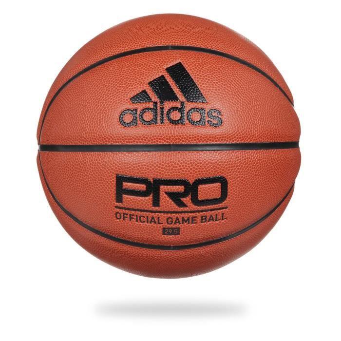 ADIDAS Ballon de basketball PRO OFF GM BALL- Orange/Noir