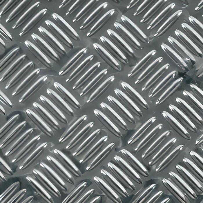 Tapis de sol de voiture style alu - set de 4