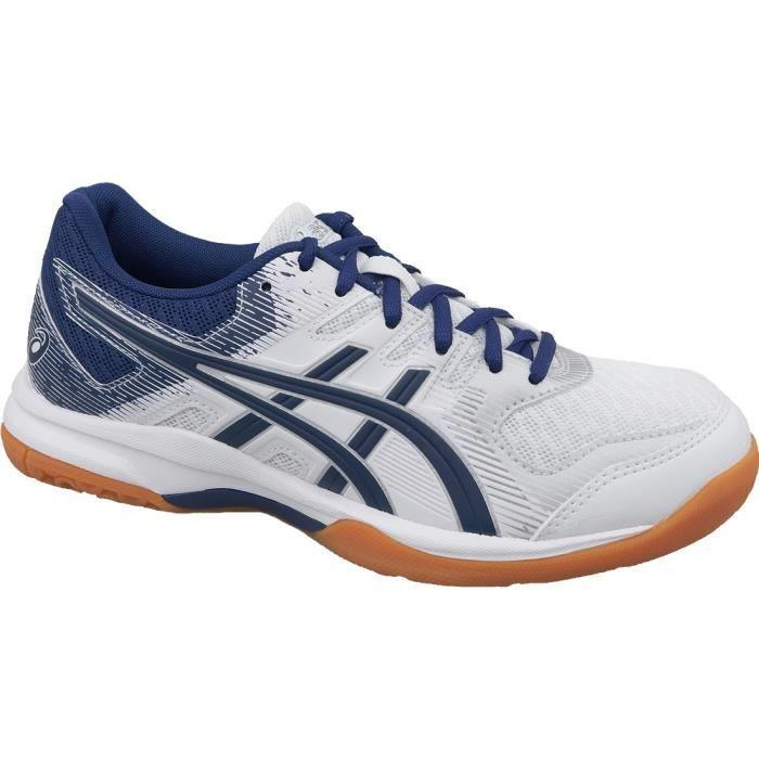 Asics Gel-Rocket 9 1072A034-102 chaussures de volley-ball pour femme Blanc