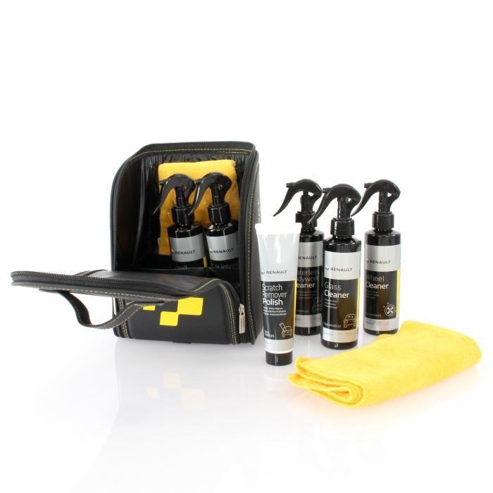 Sacoche RENAULT SPORT Produits d'entretien et nettoyage auto
