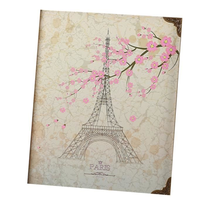 Scrapbook Album Gift Livre D Or De Mariage Livre De Voyage
