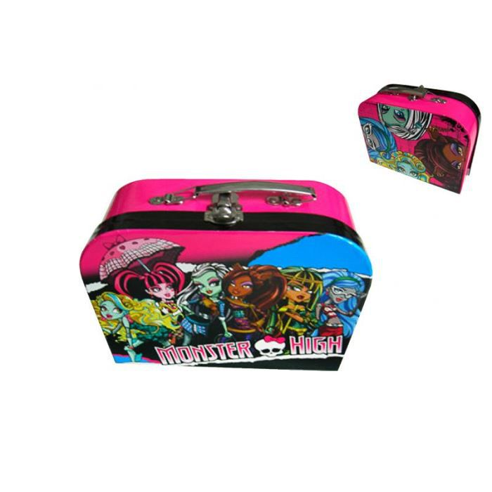 valise bagage valise monster high arrondie