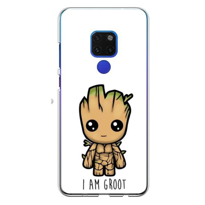 Coque Huawei Mate 20 - I am Groot - Je s'appelle G