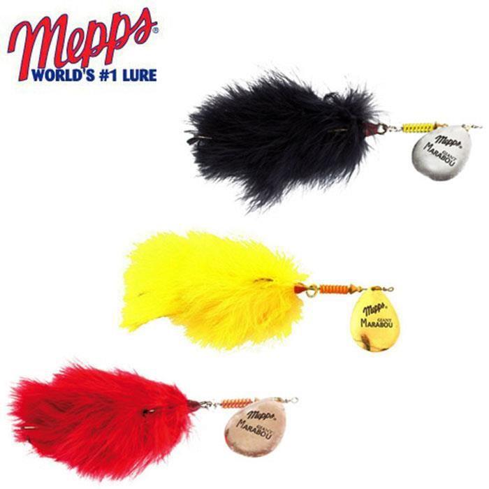 6 pièce 5 x MEPPS Aglia Or de points rouges 1 gratuit 3,5 G taille 1