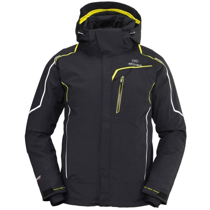 veste de ski homme eider garmisc noir noir achat. Black Bedroom Furniture Sets. Home Design Ideas