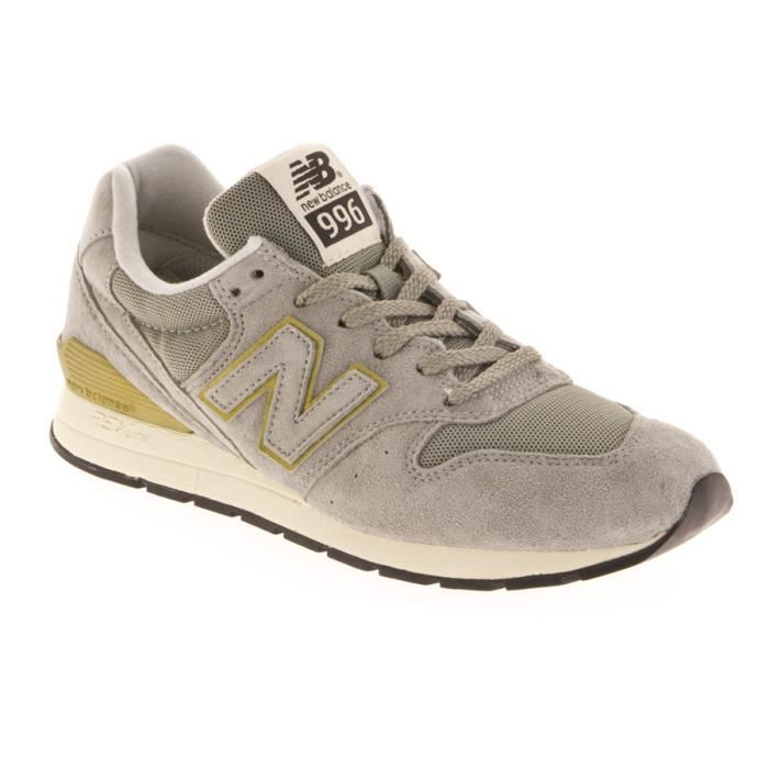 New Balance Grise Et Marron