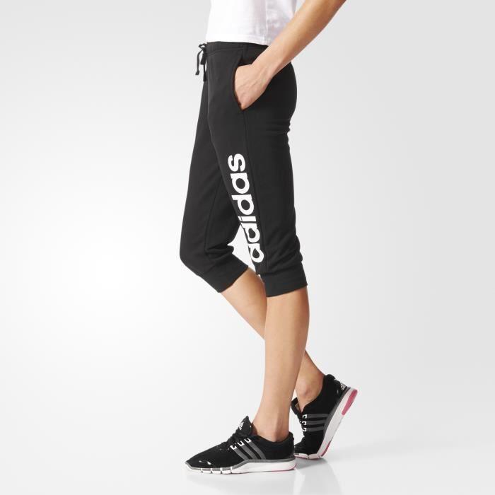 pantalon 3/4 femme adidas