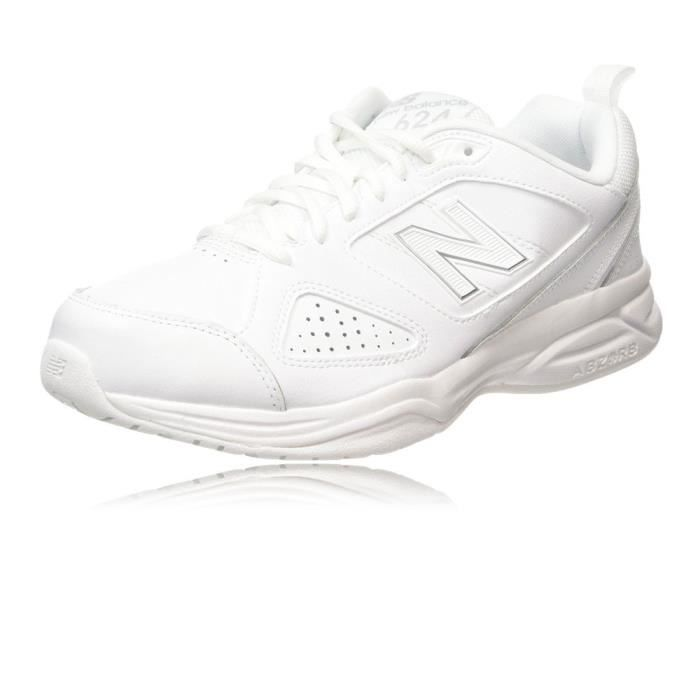 New Balance Hommes Mx624V4 Cross Baskets De Fitness Gym 2E Largeur zoiMmX
