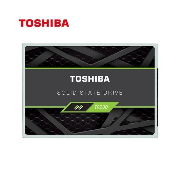 DISQUE DUR SSD Toshiba Série TR200 SSD 2.5 pouces Port SATA Disqu