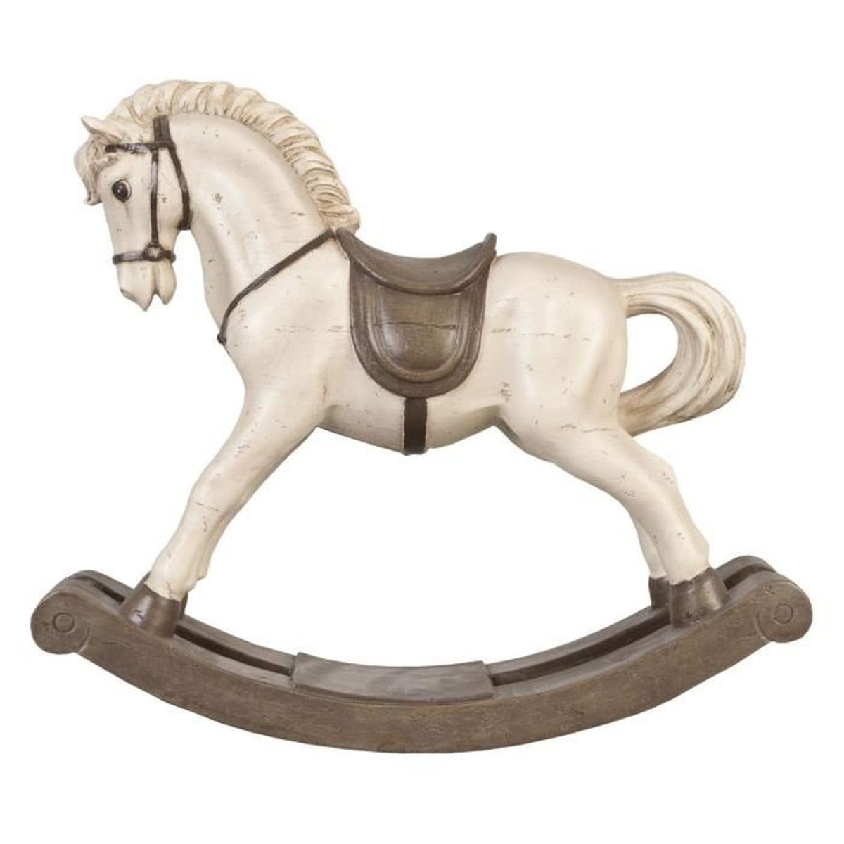 cheval bascule neuf decoration 40x34cm cadeau original achat vente statue statuette. Black Bedroom Furniture Sets. Home Design Ideas