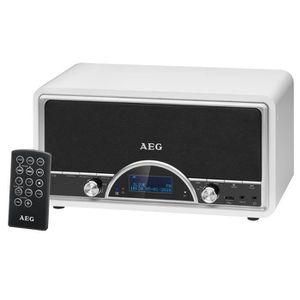 RADIO CD CASSETTE AEG NDR 4378WH DAB Radio Vintage Dab + Télécommand