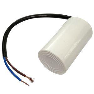 Aerzetix Condensateur Permanent de Travail pour Moteur 50/µF 400V pr/éc/âbl/é /Ø45x117mm /±5/% 10000h C18740