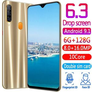 SMARTPHONE P35 6.3 Pouce Version Mondiale Smartphone Téléphon