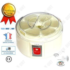 YAOURTIÈRE - FROMAGÈRE TD yaourtiere multidelice 6 pots fromagiere maison