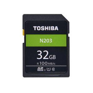 ORDINATEUR 2 EN 1 TOSHIBA N203 Carte mémoire U1 Class10 SDHC UHS-I C