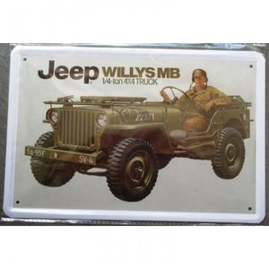 plaque jeep achat vente plaque jeep pas cher cdiscount. Black Bedroom Furniture Sets. Home Design Ideas
