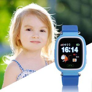 MONTRE Q90 GPS Téléphone Positionnement De Mode Enfants M