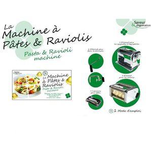 MACHINE À PÂTES Saveur & dégustation - MACHINE A PATES …