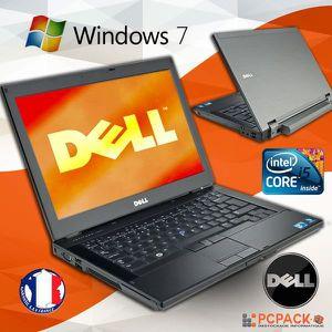 Vente PC Portable PC PORTABLE Dell Latitude E6410 Intel Core i5 2.4 GHz RAM 4 GO  HDD 250 GO WIN 7 PRO 64 SANS WEBCAM pas cher
