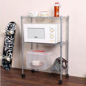 Armoire étagère de cuisine prend en charge des broches en plastique double chevilles Mont Blanc Pack De 4