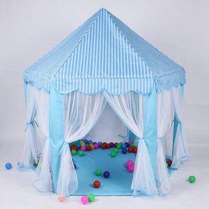 MAISONNETTE EXTÉRIEURE Bleu Tente de jouets portables pour enfants Tente
