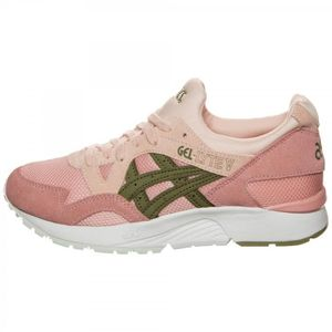 Acheter authentique Outdoor femme ASICS Femme Baskets Rose