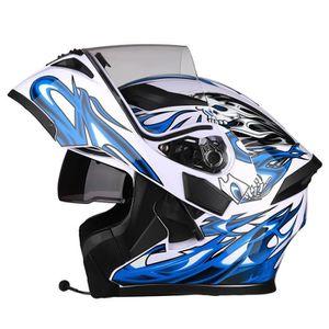 CASQUE MOTO SCOOTER Casque moto Modulable bleutooth Unisex Casque scoo
