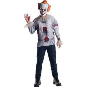 DÉGUISEMENT - PANOPLIE Déguisement Clown Grippe-Sou - Ça™ - Adulte  XL