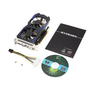 CARTE GRAPHIQUE INTERNE Carte graphique vidéo PCI-Express 128 bits GDDR5 G