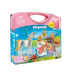 UNIVERS MINIATURE Playmobil  Valisette Princesse Et Licorne