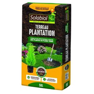 TERREAU - SABLE SOLABIOL - Terreau Plantation - Sac 50 L - UAB