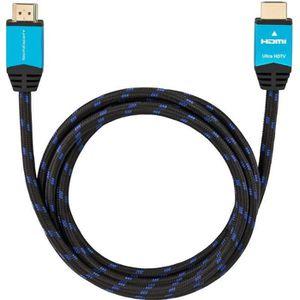 CÂBLE TV - VIDÉO - SON Câble HDMI 2.0b Ultra HDTV 4K 60Hz 18GB/Sec, HDR,