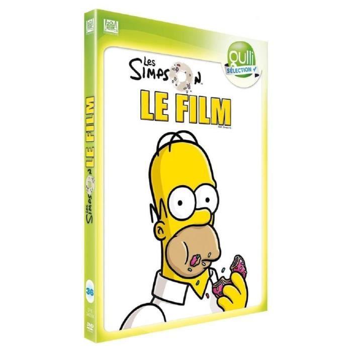 Les Simpson Le Film Dvd En Dvd Dessin Anime Pas Cher Cdiscount