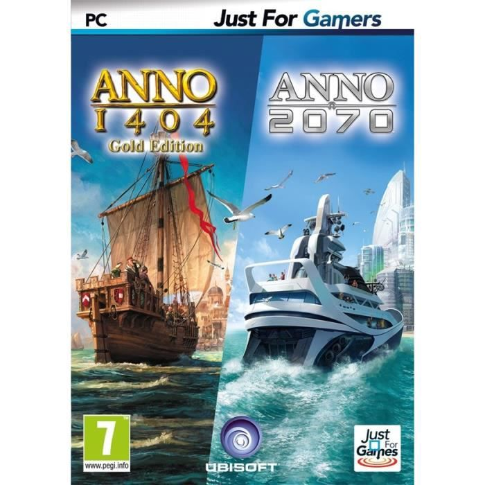 Double Pack Anno : 1404 + 2070 Jeu PC