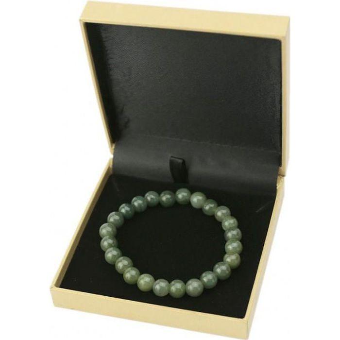 Bracelet En Jade Veritable - Paix Intérieure Et Harmonie