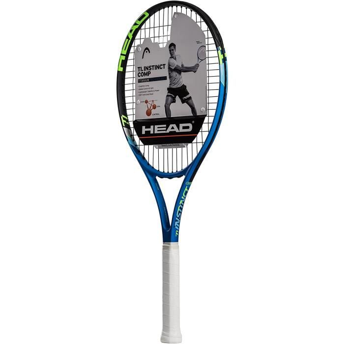 Head Ti. Instinct Comp Raquette de tennis pr eacute-cord eacutee Head Light Balance 27-