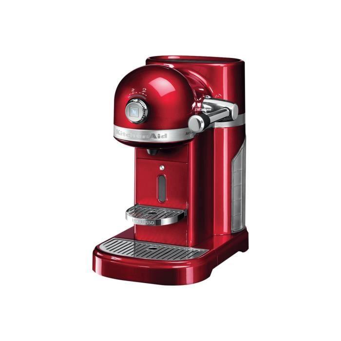 KitchenAid Artisan 5KES0503 Machine à café 19 bar pomme rouge métallisé