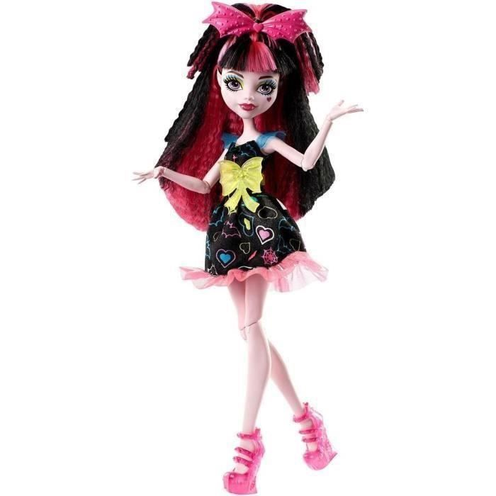 MONSTER HIGH - Coiffure Electrisante Draculaura