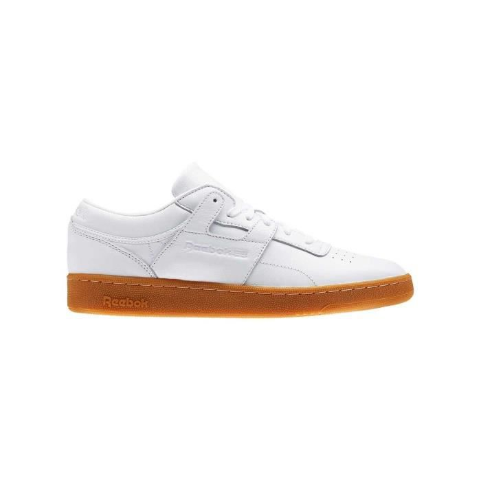 REEBOK Baskets Club Workout - Homme - Blanc
