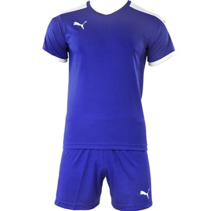 Smu playing Kit Homme Ensemble Football Bleu Puma