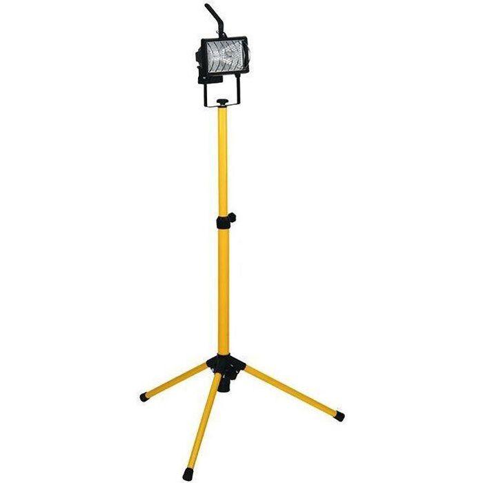 Projecteur hal.sur mat télescopique 400w