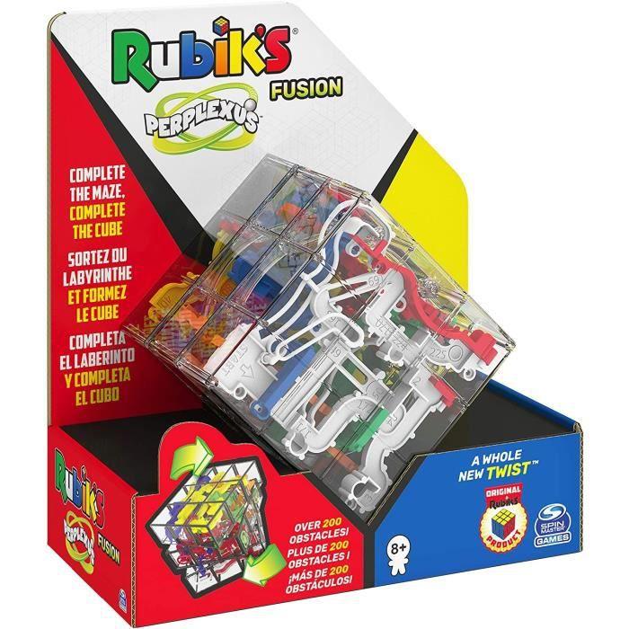 PERPLEXUS - Rubik's 3x3 - 6055892 - Labyrinthe Parcours 3D - Jeu d'Action et de Réflexe - Jouet Enfant 8 Ans et +
