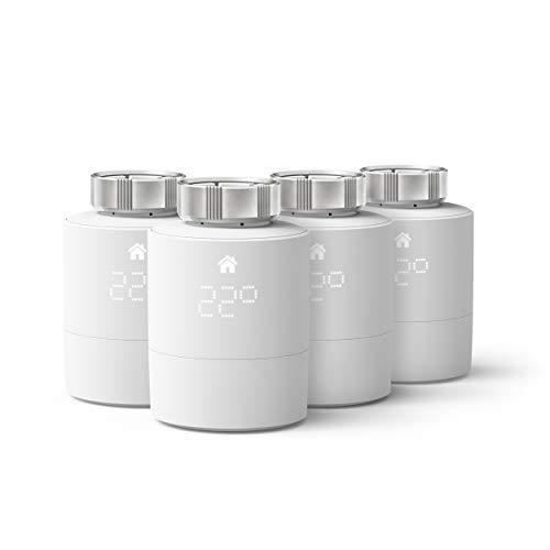 Tête Thermostatique Intelligente TADO Génie Thermique - Pack Quattro Accessoire Pour Le Contrôle Multi-pièces, De chauffage