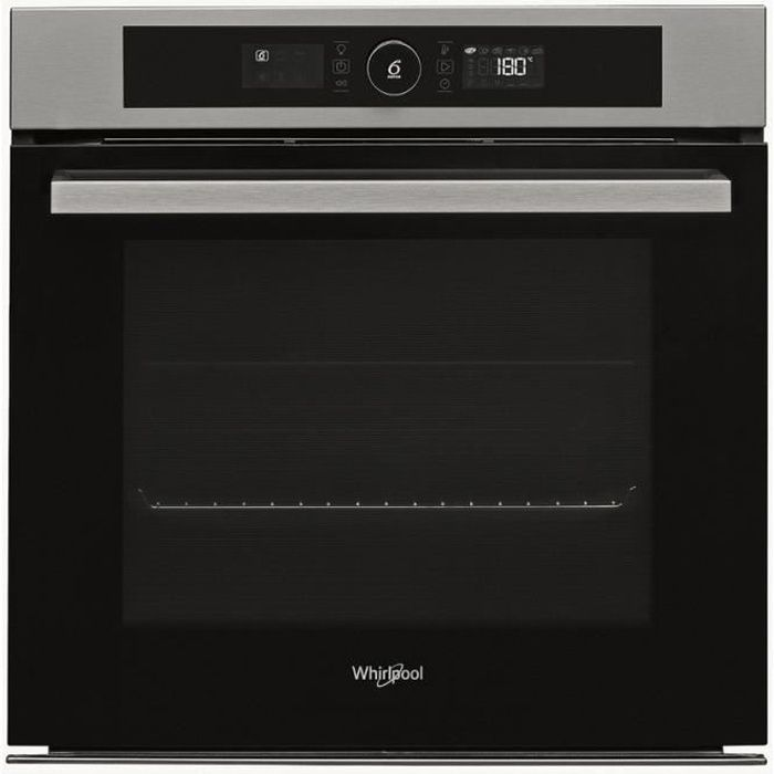 Whirlpool - four intégrable multifonction 73l 60cm a+ pyrolyse inox - akz9635ix