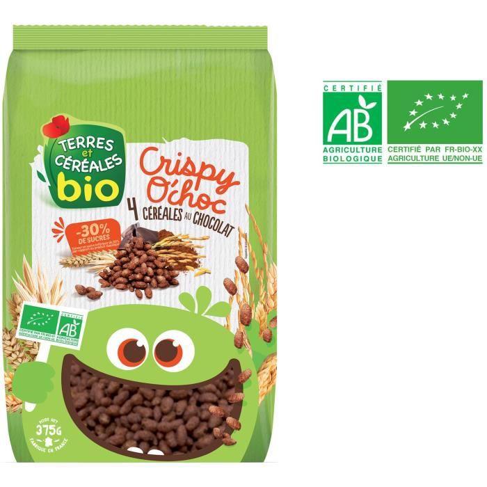 TERRES ET CEREALES Céréales crispy O'choc - 375 g