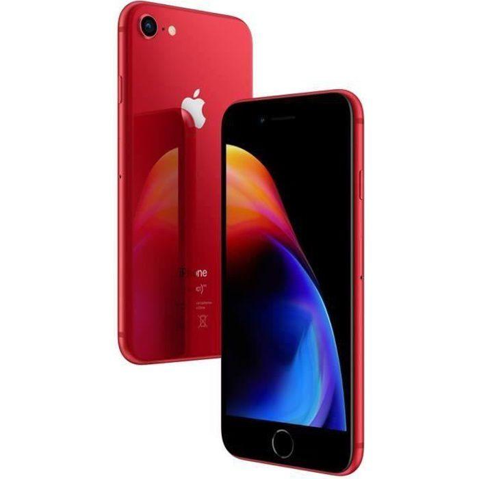 SMARTPHONE iPhone 8 64 Go Red Occasion - Etat Correct